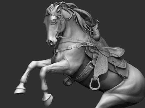 Zbrush Sculpt / Horse